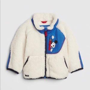 Baby Gap Disney Mickey Mouse Sherpa Jacket